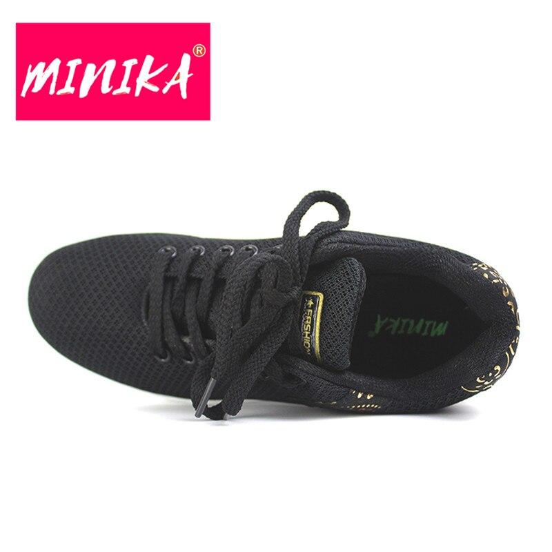 MINIKA New Brand Women Flats Schoenen Fashion Bronzing Women Duurzame - Damesschoenen - Foto 3