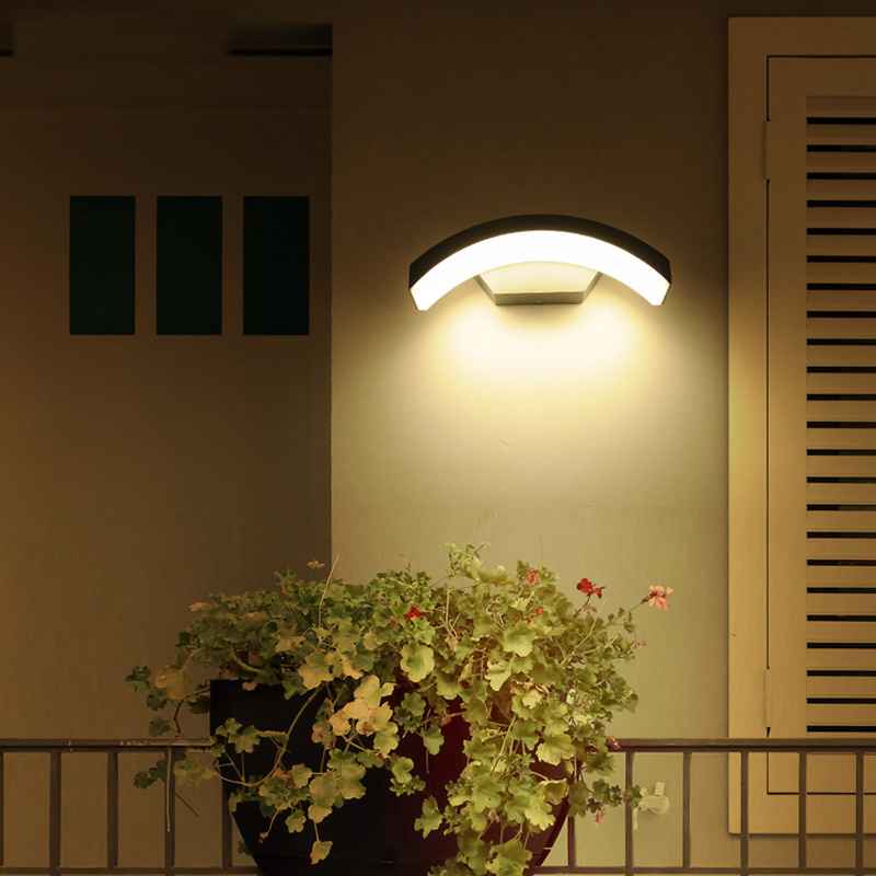 Us 14 88 46 Off Moden Waterproof Led Wall Light Outdoor Creative Landscape Lighting Residential Balcony Corridor Garden Villa Down Sconce In