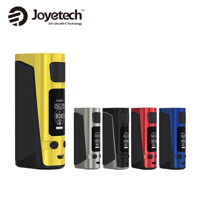 2017! 80 W joyetech evic primo mini TC caja mod vaping evic primo mini Control de temperamento mod e-cig vape original mod sin batería 18650