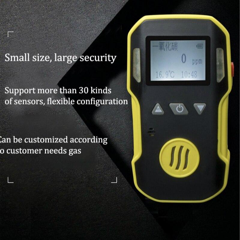 Rilevatore di Fughe di Gas SENZA Gas di ossido Nitrico Monitor con Sistema di Allarme Rilevatore di Gas Analizzatore di Gas Sensore NO Aria Professionale