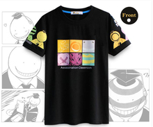 2017 T shirt Assassination Classroom anime T shirt man woman Couples dress free shipping