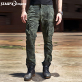 Brand New Men Cargo Pants Camouflage Army Fashion Pants Men Casual Pant Top Quality male military wear Trousers
