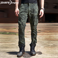 Marca New Men Carga Calças de Camuflagem Do Exército Calças Dos Homens de Moda Casual Calça Qualidade Superior desgaste Calças militares do sexo masculino