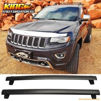 Per 11-16 Grand Cherokee OE Nero Tetto Rack Ferroviarie Cross Bar WithKey Blocco