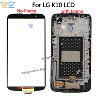 5.3For LG K10 LTE K420N K430 K430DS K410 LCD Display Touch Screen Digitizer Assembly with Bezel Frame Cable no IC