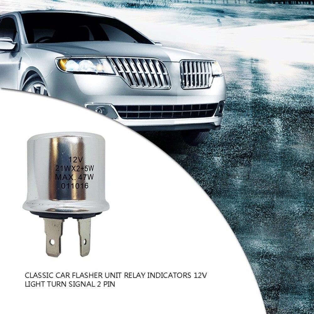 CLASSIC CAR  FLASHER UNIT RELAY INDICATORS 12V LIGHT TURN SIGNAL 3 PIN