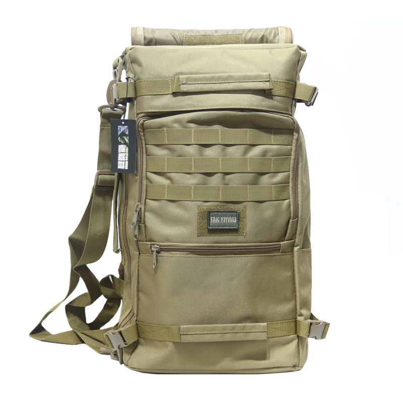 TAK YIYING Military Tactical Backpack 50L Outdoor Sport Camping Bags Mountaineering bag Mens Hiking Rucksack Travel Backpack