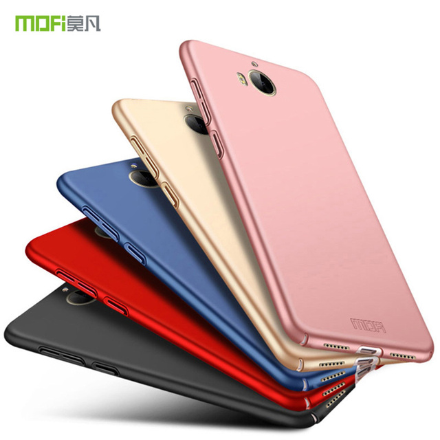 size 40 433d5 0c6f8 US $6.69 |MOFi Fitted Case for Huawei Y5 2017 III MYA L22 luxury Phone Back  Cover Hard PC Case Coque for Huawei Y 5 2017 MYA L22 Phone cas-in Fitted ...