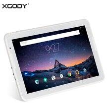 Original XGODY A106T 10.6 Pulgadas Tablet PC Android 5.1 de Allwinner A83 Octa Core 1G + 16G 10 pulgadas Tableta Altavoz Dual OTG 3600 mAh