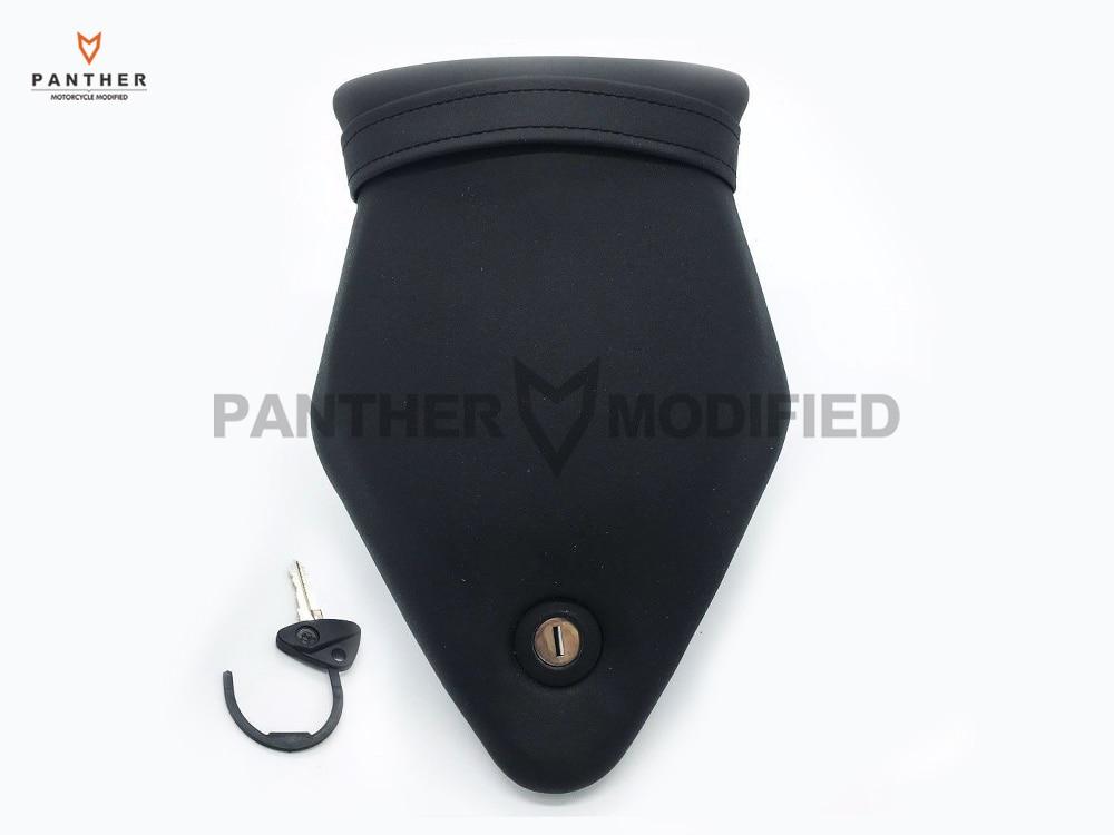 1 PCS Black Motorcycle Rear Passenger Seat Back Pad Cushion Case For BMW S1000RR C133 2011 2012 2013 2014 2015 10-15