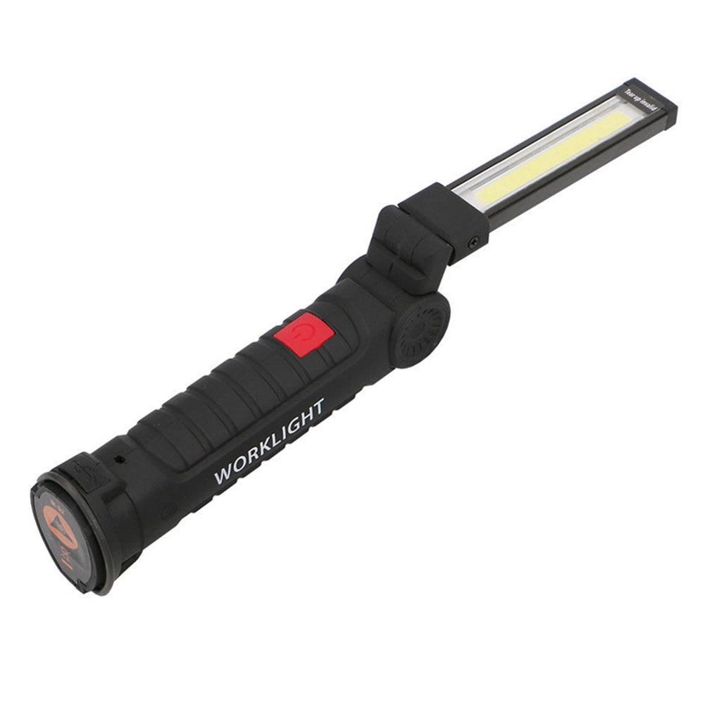 LED Wiederaufladbare Magnetische COB Taschenlampe Handheld Inspektion Lampe Cordless Arbeitsscheinwerfer Werkzeug M8617