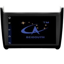 BEIDOUYH Android 9 inch Car Radio Navigators for Volkswagen new polo 2012-2016 Support SWC/CAN-BUS/GPS navigation/USB/rearview