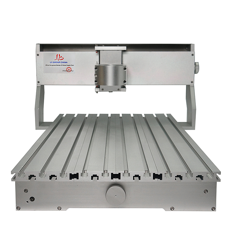 Chine usine CNC cadre 3020 3040 6040 CNC Machine cadre Kit de luxe fraisage bois routeur partie avec moteur pas à pas pour bricolage passe-temps