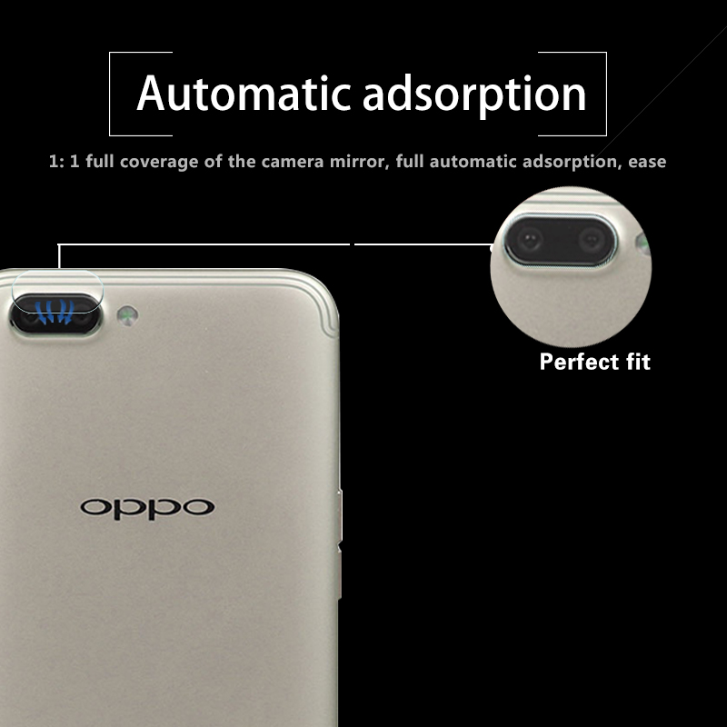 Ultra-thin Back Camera Lens Tempered Glass Film For OPPO R11 5.5 Rear Camera Lens Protective Film Glass With Cleaning Tools