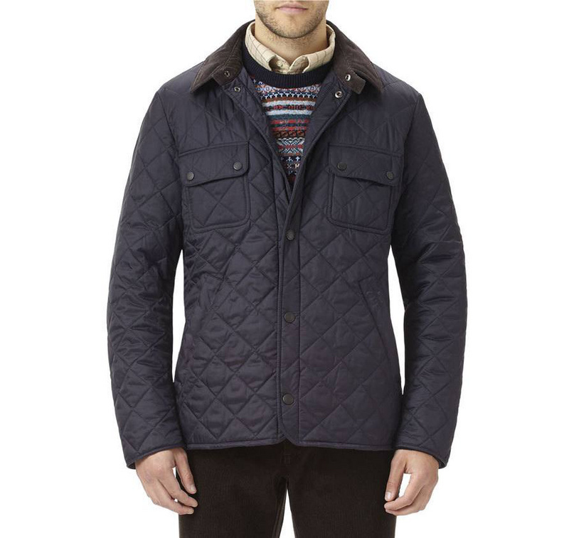 2015 high quality uk top brand tinford quilted jacket for