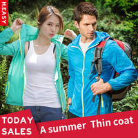 Outdoor Sports Skin Clothing Ladies New Spring And Summer Clothing Breathable Windproof Rash Guards Mosquito Lovers