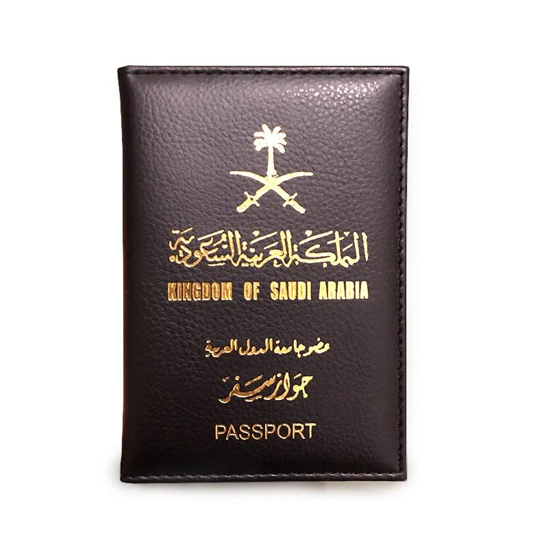Travel Saudi Arabia Passport Cover Cute Women Gifts Pink Passport Holder Case For Passports Girls Case Passport Wallet