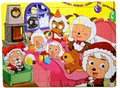 Wooden Puzzle Pleasant goat Christmas Kids Jigsaw 60 Pieces Educational Toy for Children Gift