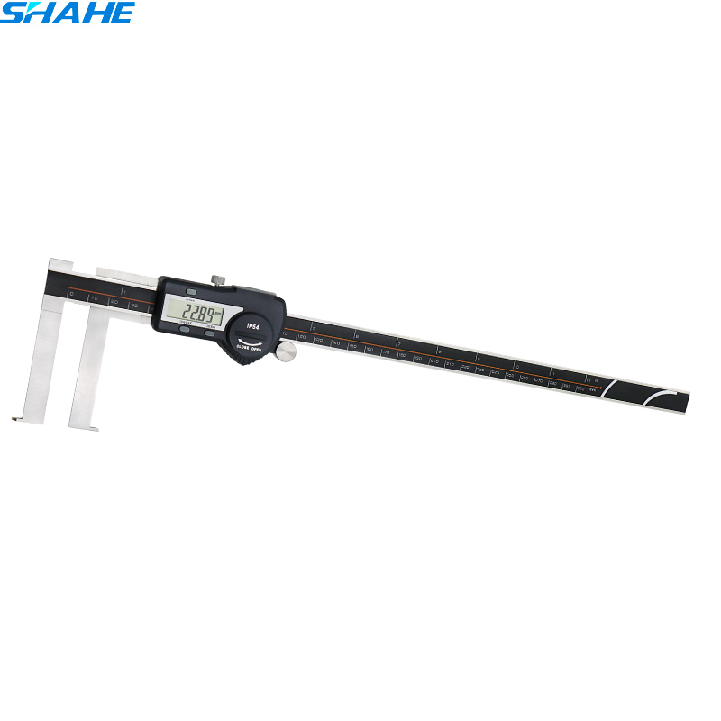 15-300 mm Inside Groove Type Digital Caliper with knife Head Stainless Steel Electronic Digital Vernier caliper 300 mm15-300 mm Inside Groove Type Digital Caliper with knife Head Stainless Steel Electronic Digital Vernier caliper 300 mm