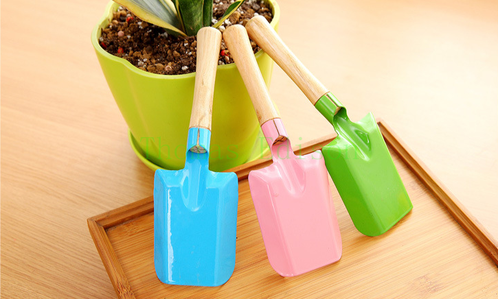Mini potted plants and flowers flower multifunctional spade household gardening tools