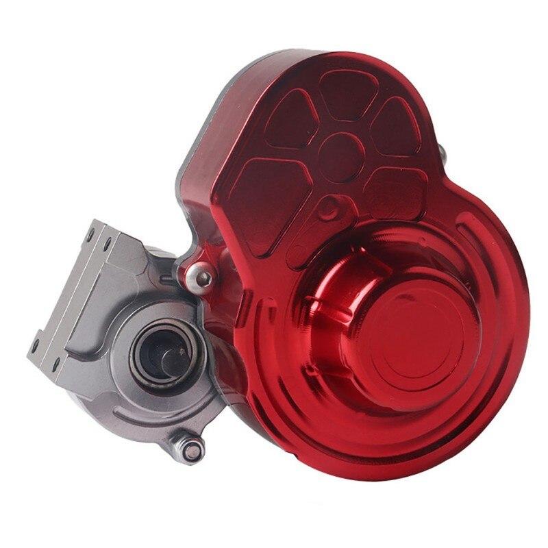 Boîte de Transmission complète en métal SCX10 boîte de vitesses avec engrenage pour 1/10 RC chenille axiale SCX10 mise à niveau RC pièces de voiture