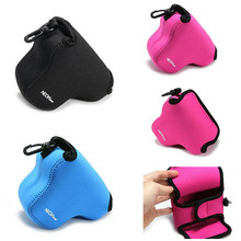 limitX Neoprene Soft Waterproof Inner Camera Case Cover Bag for Olympus PEN E PL7 EPL7 with 14 42mm Lens