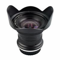 Lightdow 15 мм F4 F/4,0 F32 ультра Широкий формат 1:1 макро объектив для Canon Nikon цифровых зеркальных камер DSLR
