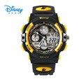 100% Подлинная Disney спортивные часы 50 М Открытый часы дети Мода цифровые Наручные Часы relogio LP-PS021-7