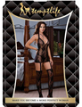 MOONIGHT Холтер Сексуальное Женское Белье Печати Женщины Эротическое Белье Порно BabyDoll Горячая Глубокий V Сексуальное Нижнее Белье Пижамы Для Женщин