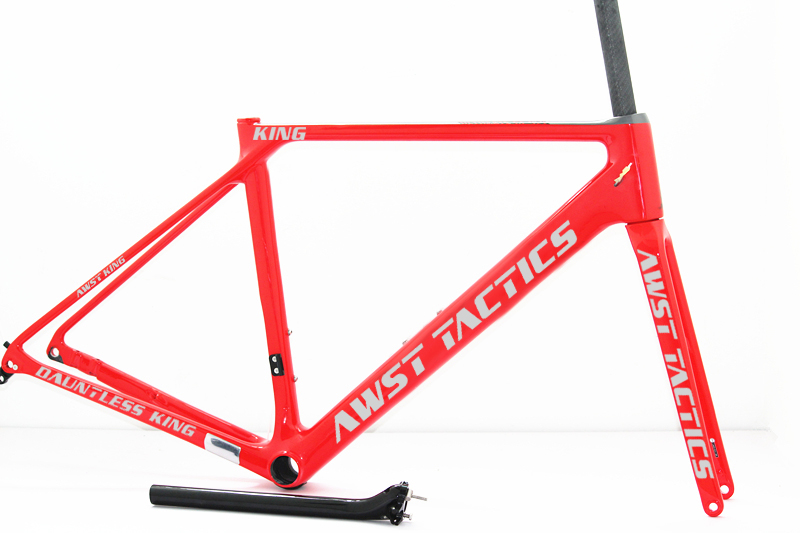 Cyclocross Carbon Fiber Road Frameset Aero Carbon Aero Bicycle Frames DISC BRAKE Axle 100*12/142*12mm Bicycle Carbon Road Frame