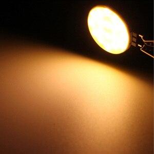 Image 3 - 7W DC12V LED G4 COB הנורה טהור לבן חם LED 30 שבבי להחליף הלוגן מנורת ספוט אור הנורה