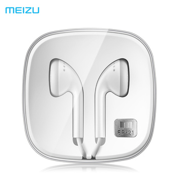 Original Meizu EP21 EP21HD Earphone with Remote and Microphone 3.5mm EP21 HD For iPhone/Android pro5/6 mx5 Note3 Metal Phone Phone Earphones & Headphones