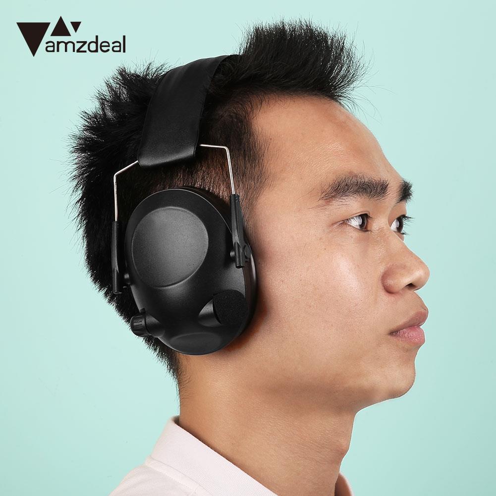 amzdeal Tactical Anti-Noise Impact Electronic Earmuff Fold Ear Peltor Earmuffs 21SNR Earphone Headphone