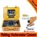 Подводная камера для рыбалки  100 метров глубина  одна свинцовая панель и 7-дюймовый монитор с DVR встроенный и желтый жесткий пластиковый корп...