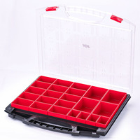 Storage tool kit,empty case with removable drawers used to store small objects multif function household tool set