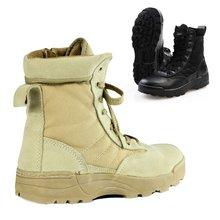 Армейские мужские тактические ботинки; рыбацкие болотные ботинки; обувь для пустыни; походная обувь для походов; обувь в военном стиле; Мужская обувь в Военном Стиле