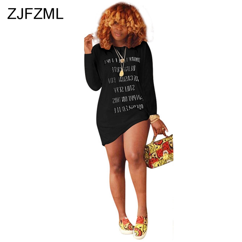 21e045b18d4c6 Detail Feedback Questions about Letter Printed Sexy T Shirt Dress ...