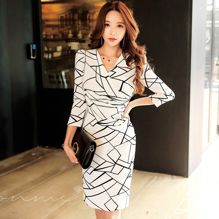 Autumn Maxi Long Bandage Office Sexy Party Bodycon Vintage Winter White Black Dress Vestido De Festa