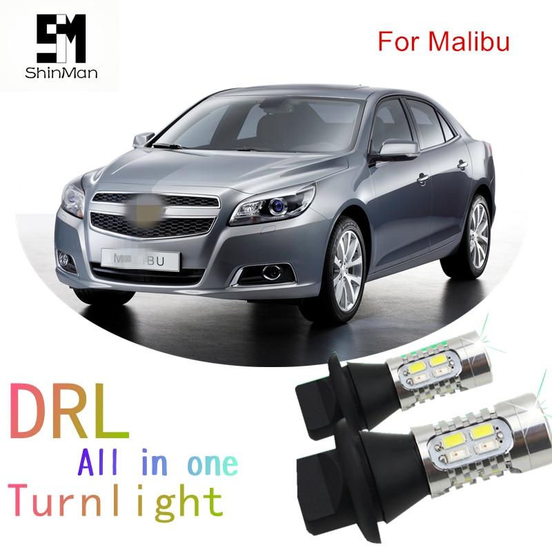 Molls led Py21w Bau15s 1156 150degree car light DRL Daytime Running Light Front Turn Sig ...