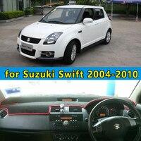 car dashmats car styling accessories dashboard cover for Maruti Suzuki Swift Sport 2004 2005 2006 2007 2008 2009 2010 rhd