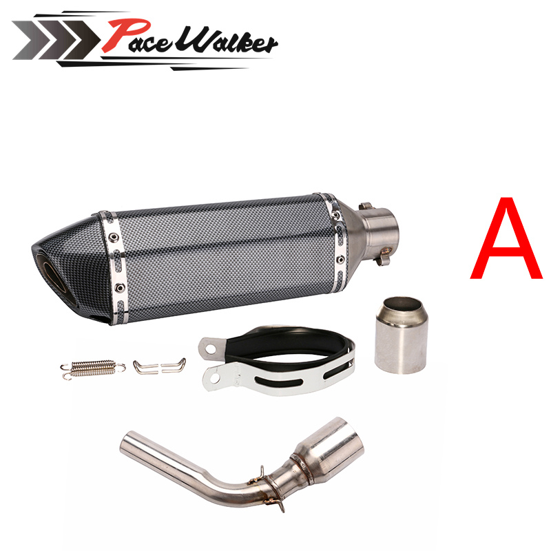Muffler Exhaust-Pipe Motorcycle 51mm Honda Grom for MSX125 Modified