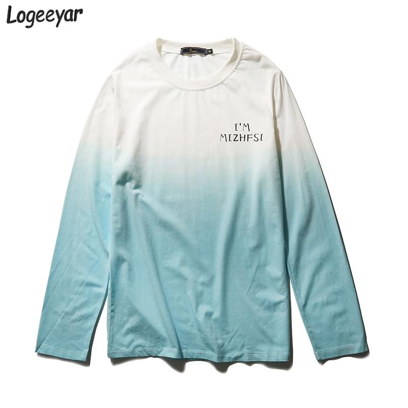 2017 New Design Men T Shirt High Quality T-Shirt Men Casual Printed Slim Fit T Shirts O Neck Long Sleeved Men Tops Clothes 5XL 1