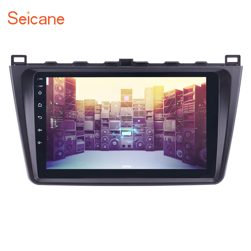 Seicane 9 inch 1080P Android 7.1/6.0 Car Radio GPS Navi Unit Player For 2008 2009 2010 2011-2015 Mazda 6 Rui wing RAM 1GB
