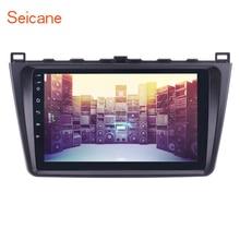 Seicane 9 дюймов 1080 P Android 7,1/6,0 автомобилей Радио gps Navi блок плеер для 2008 2009 2010 2011 -2015 Mazda 6 Rui крыло Оперативная память 1 ГБ
