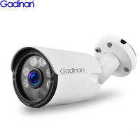 GADINAN H.265 Bullet Outdoor SONY IMX323 Sensor 3MP 2MP ONVIF P2P IR CUT Night Vision IP Camera 48V POE /DC 12V Dual Use ONVIF