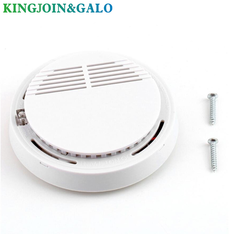 85 DB Voice Fire Smoke Sensor Detector Alarm Tester Home Security System   Kitchen/Restaurant/Hotel/Cafe
