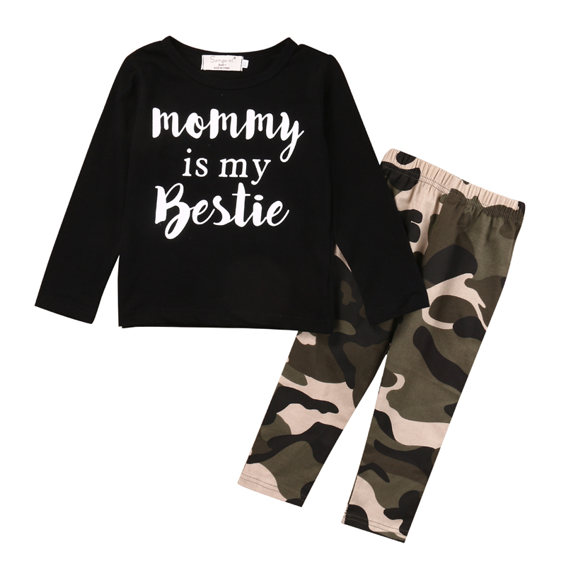 Newborn Infant Kids Baby Boy Clothes T-shirt Tops Camouflage Pants Outfits Set 0-2 Y newborn toddler infant baby boy girl clothes t shirt tops pants outfits 2pcs baby clothes set 0 24m