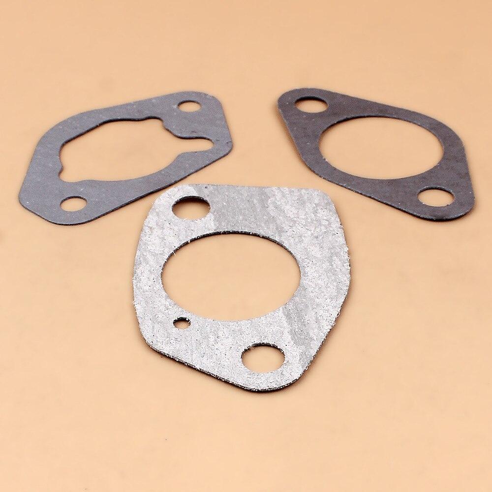 Carburetor Intake Gasket Kit Fit HONDA GX340 GX390 188F 190F 5KW 6 5KW 11 13hp Engine Motor Gasoline Petrol Generator Parts in Generator Parts Accessories from Home Improvement