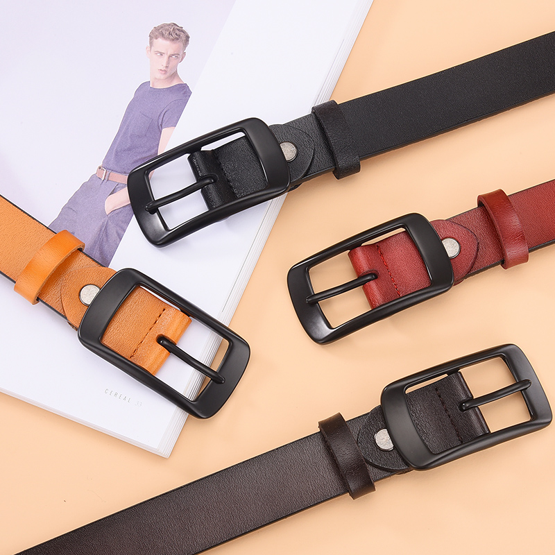DINISITON Female Belts For Women Genuine Leather Belt Fashion All-match Strap Cowhide Casual High Grade Quality Designer Belt