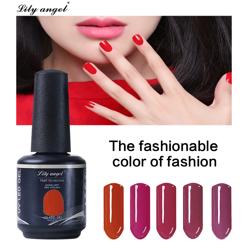 Professional Led UV Soak Off  Makeup Neon Colorful Nail Gel Polish 90 Colors Gel Lacquer Nail Art Long Lasting Nail Liquid 1-31